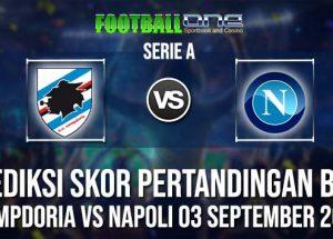 Prediksi SAMPDORIA vs NAPOLI 03 September 2018 Serie A
