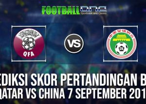 Prediksi Qatar vs China 7 September 2018 Friendlies