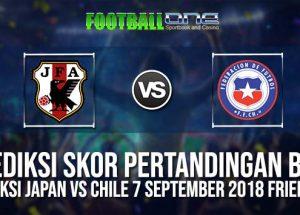Prediksi JAPAN vs CHILE 7 September 2018 Friendlies