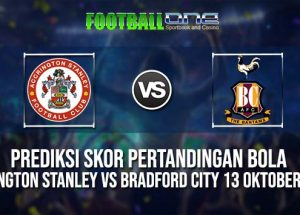 Prediksi ACCRINGTON STANLEY vs BRADFORD CITY 13 OKTOBER 2018 ENGLISH LEAGUE ONE