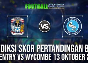 Prediksi COVENTRY vs WYCOMBE 13 OKTOBER 2018 ENGLISH LEAGUE ONE