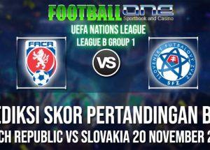 Prediksi CZECH REPUBLIC vs SLOVAKIA 20 NOVEMBER 2018 UEFA NATIONS LEAGUE