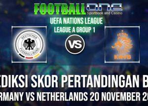GERMANY vs NETHERLANDS 20 NOVEMBER 2018 UEFA NATIONS LEAGUE