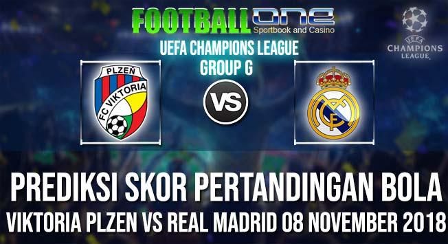 Prediksi VIKTORIA PLZEN vs REAL MADRID 08 NOVEMBER 2018 UEFA CHAMPIONS LEAGUE