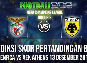 Prediksi BENFICA vs AEK ATHENS 13 DESEMBER 2018 UEFA CHAMPIONS LEAGUE