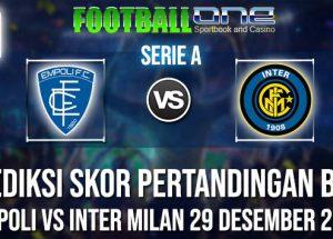 Prediksi EMPOLI vs INTER MILAN 29 DESEMBER 2018 SERIE A