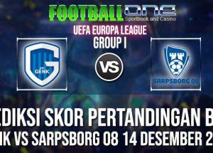 Prediksi GENK vs SARPSBORG 08 14 DESEMBER 2018 UEFA EUROPA LEAGUE