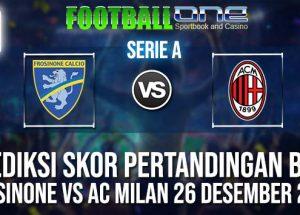 Prediksi FROSINONE vs AC MILAN 26 DESEMBER 2018 ITALIAN SERIE A