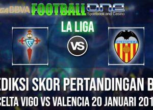 Prediksi CELTA VIGO vs VALENCIA 20 JANUARI 2019 LA LIGA