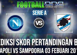 Prediksi NAPOLI vs SAMPDORIA 03 FEBUARI 2019 SERIE A