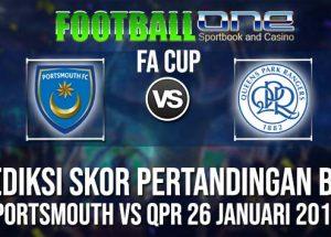 Prediksi PORTSMOUTH vs QPR 26 JANUARI 2019 FA CUP