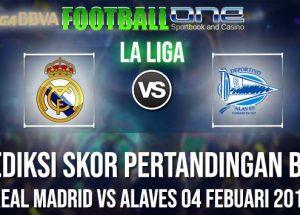 Prediksi REAL MADRID vs ALAVES 04 FEBUARI 2019 LA LIGA