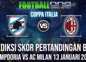Prediksi SAMPDORIA vs AC MILAN 13 JANUARI 2019 COPPA ITALIA
