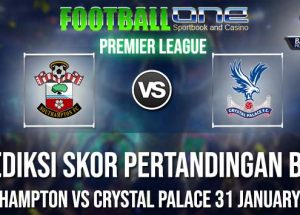 Prediksi SOUTHAMPTON vs CRYSTAL PALACE 31 JANUARY 2019 PREMIER LEAGUE