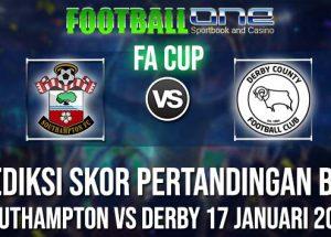 Prediksi SOUTHAMPTON vs DERBY 17 JANUARI 2019 FA CUP
