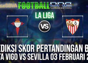Prediksi CELTA VIGO vs SEVILLA 03 FEBRUARI 2019 SPANISH LA LIGA