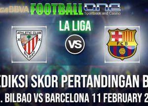 Prediksi ATH. BILBAO vs BARCELONA 11 FEBRUARY 2019 LA LIGA