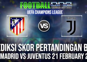 Prediksi ATL MADRID vs JUVENTUS 21 FEBRUARY 2019 UEFA CHAMPIONS LEAGUE