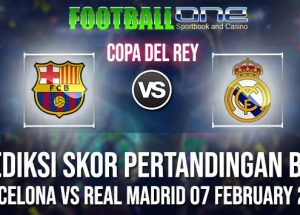Prediksi BARCELONA vs REAL MADRID 07 FEBRUARY 2019 COPA DEL REY