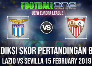 Prediksi LAZIO vs SEVILLA 15 FEBRUARY 2019 UEFA EUROPA LEAGUE