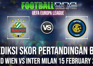 Prediksi RAPID WIEN vs INTER MILAN 15 FEBRUARY 2019 UEFA EUROPA LEAGUE