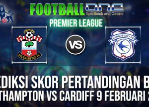 Prediksi SOUTHAMPTON vs CARDIFF 9 FEBRUARI 2019 ENGLISH PREMIER LEAGUE